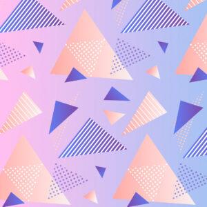 fond dégradé triangles