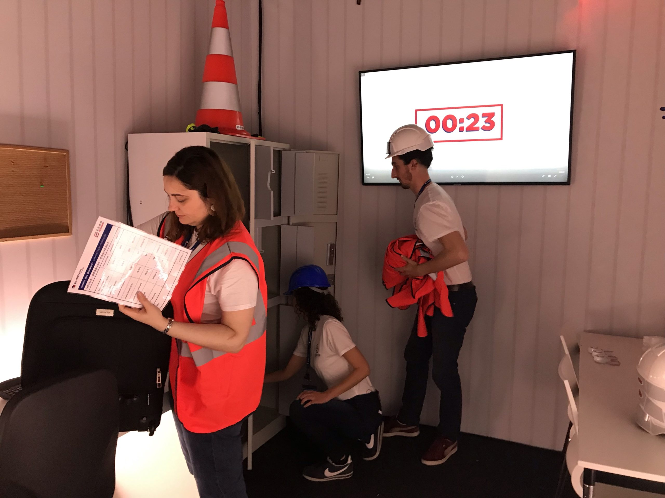 escape game de prévention